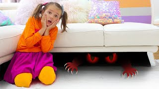 Max y Katy una historia sobre un monstruo debajo de la cama