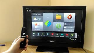 Обзор приложений и выбор лаунчера по-умолчанию в X96 mini tv box приставка
