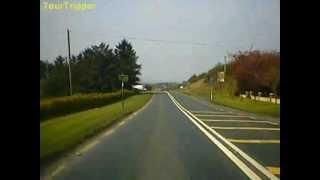 Road trip from Claremorris Co. Mayo to Castlebar Co. Mayo
