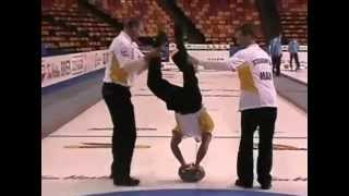 Curling Trick Shot - Jeff Stoughton Team Manitoba