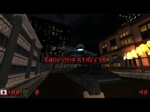 Duke Nukem 3D Hollywood Holocaust Rethinked Remake Walkthrough / Gameplay Part Full HD 1080p