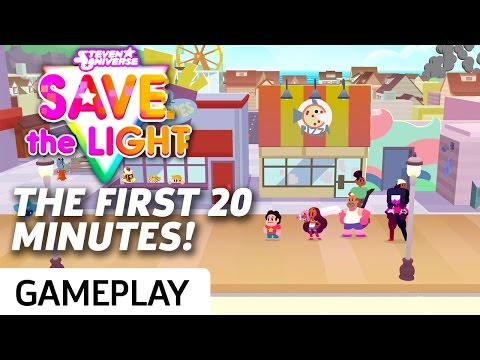 Steven Universe: Save The Light - 20 Minutes Of Gameplay