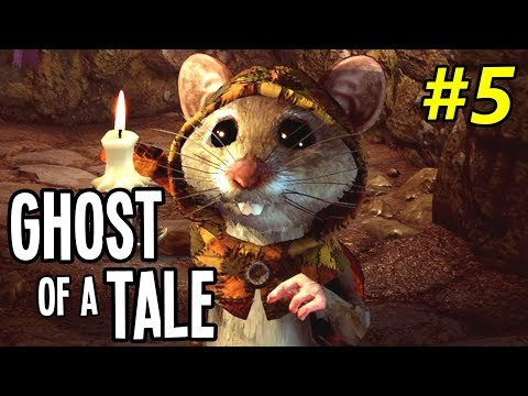 SECRETS of the COURTYARD - Ghost of a Tale Gameplay Playthrough - Ep. 5