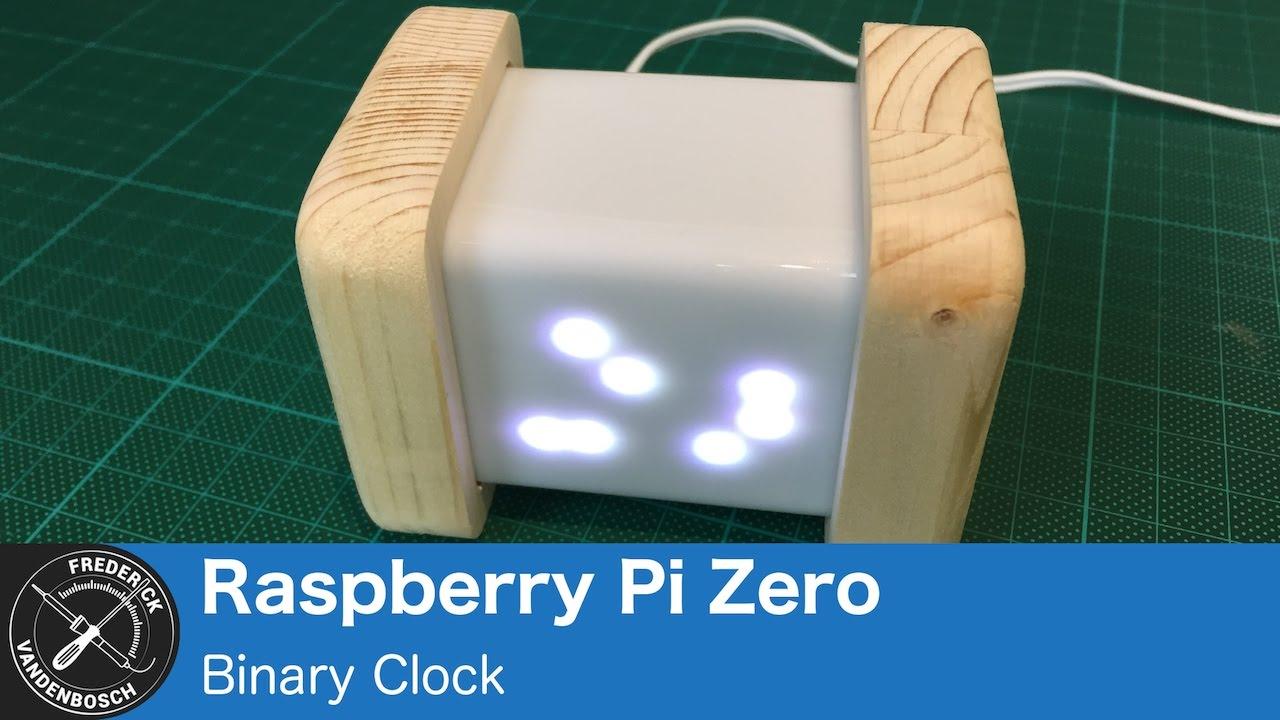 Binary Clock – Frederick Vandenbosch