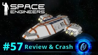 Constellation-class Luxury Yacht Review and Crash! Space Engineers Part 57