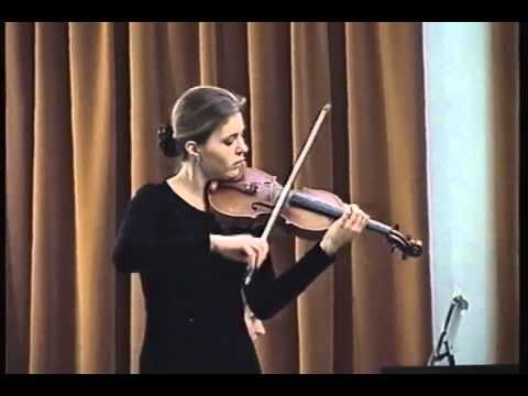 P.I.Tchaikovsky: Concert in D major op.35, 3. movment