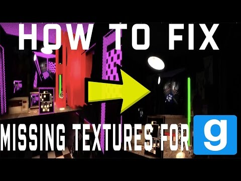 How to FIX Missing Textures on Garry's Mod (MAC) (100% Guaranteed)