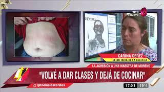 Ataque a una maestra de Moreno: Amenazas, secuestro y tortura