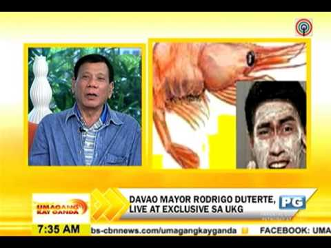 "Rodrigo Duterte to Ramon Bautista : ""BUANG"""