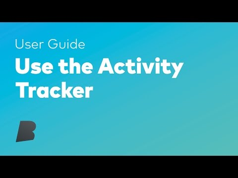 Use The Activity Tracker - The Dash