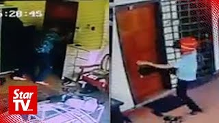 Man escapes parang-wielding robbers at his home, cops investigating