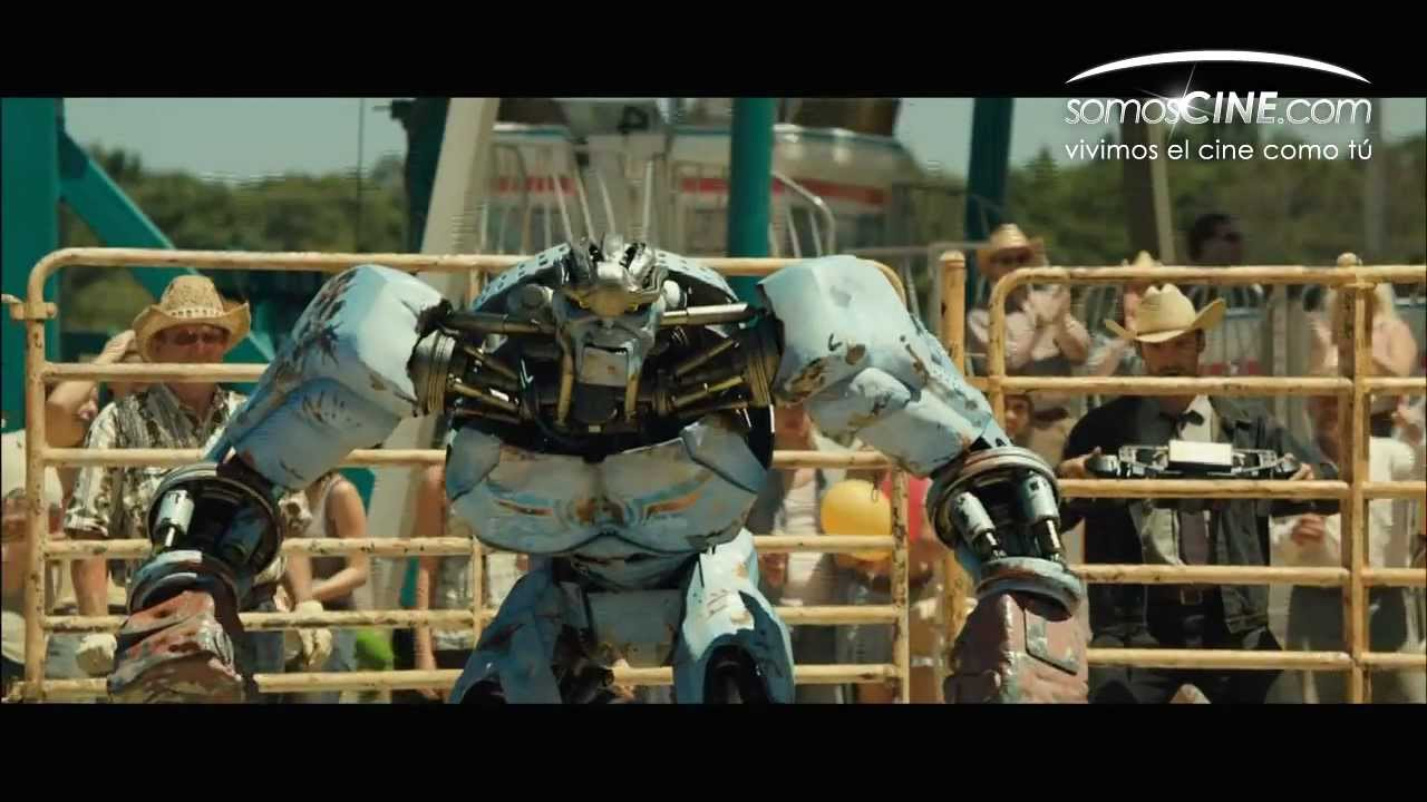Gigantes de Acero Real Steel Trailer HD Subtitulado Espaol  YouTube