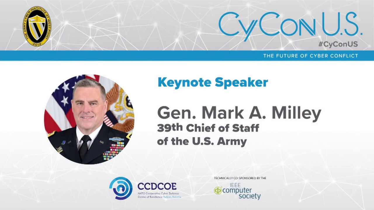 Gen  Mark A  Milley - 39th Chief of Staff of the US Army