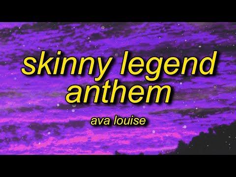 Ava Louise - Skinny Legend Anthem (Lyrics)   im skinny im winning and all you b are ugly