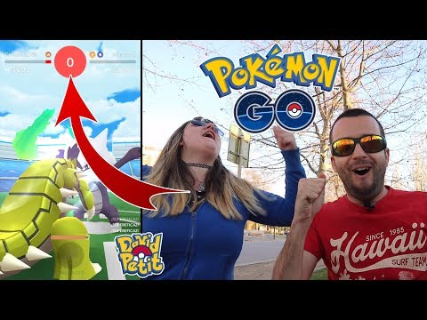 EL MEJOR RETO DEL CANAL! MAROWAK ENTRE DOS JUGADORES CON MELOCOTONA! [Pokémon GO-davidpetit] thumbnail