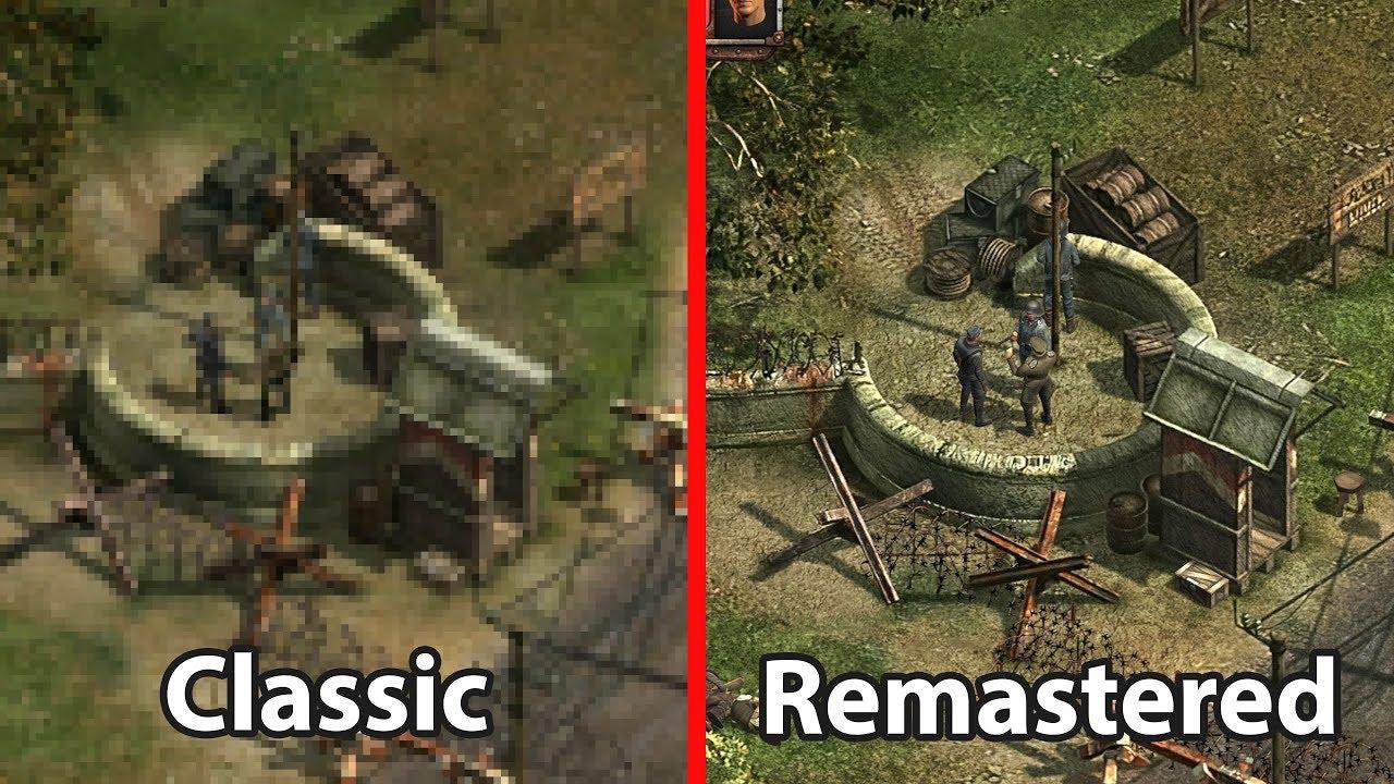 Commandos 2 vs Commandos 2 HD Remastered - YouTube