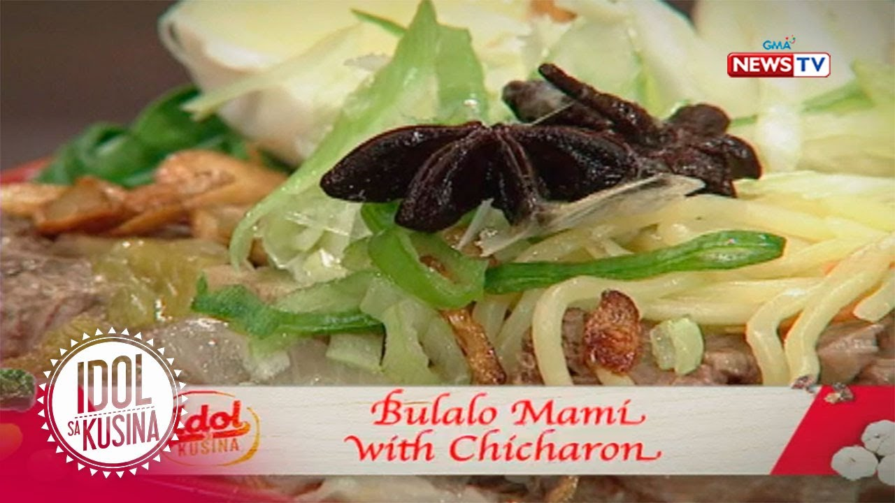 Idol sa Kusina: Bulalo Mami with Chicharon