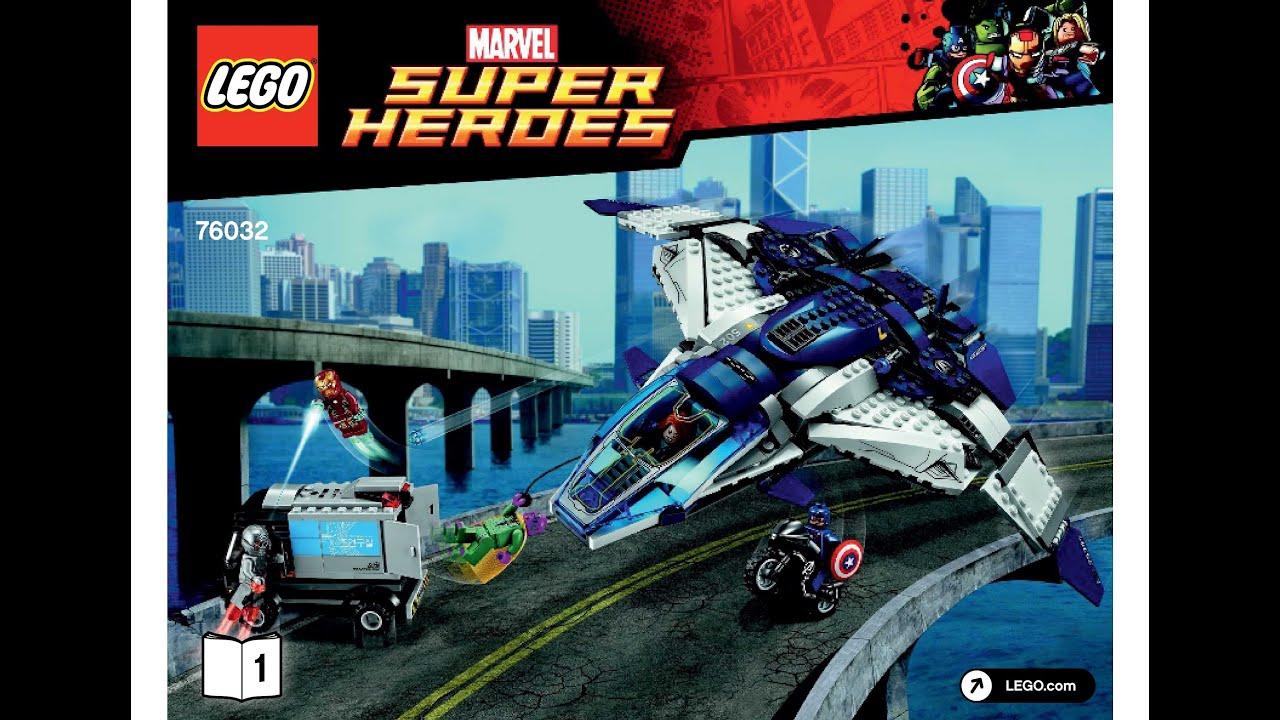 lego avengers helicarrier instructions