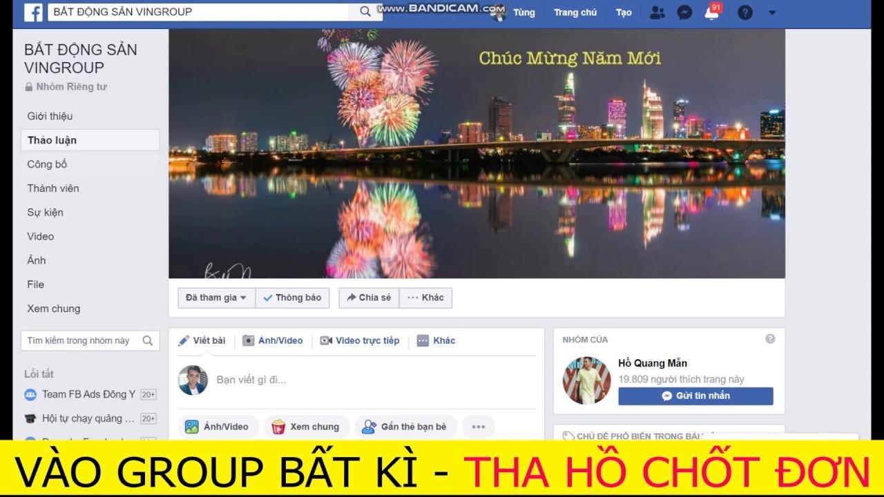 Chạy target facebook vào Group đối thủ, Group bất kì|Quảng cáo facebook nâng cao