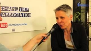 Florence Archimbaud, tour du monde à vélo, par ABM-TV