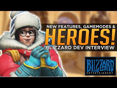 Overwatch: Blizzard Talks NEW Features, Gamemodes & Heroes!