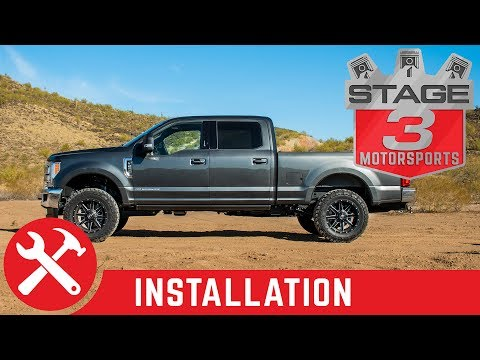 2017-2018 F250 & F350 Super Duty Rear Shock Replacement