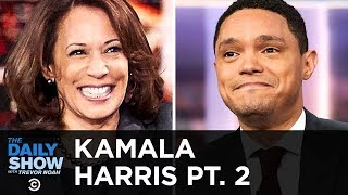 Kamala Harris on Her 2020 Presidential Campaign and Trump's Vanity Wall | The Daily Show thumbnail