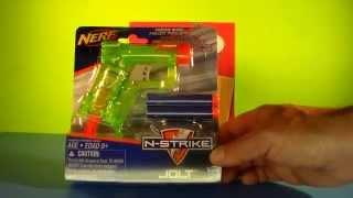 Nerf N-Strike Jolt Blaster (Green) - Unboxing