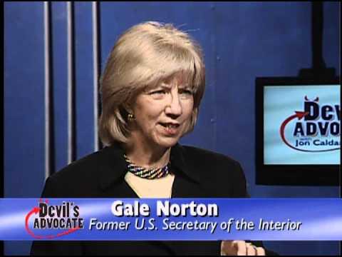 Former Secretary of the Interior Gale Norton