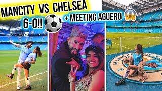 ⚽ WATCHING MANCITY 6-0!! + MEETING AGUERO! 😱 VIP EXPERIENCE!