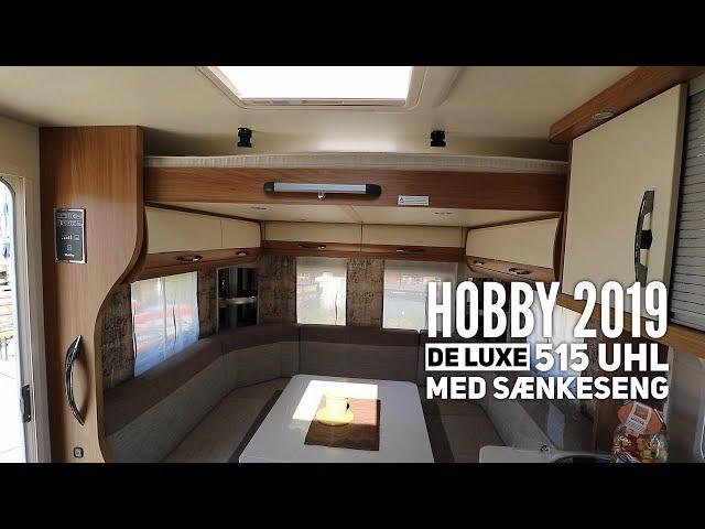 Hobby De Luxe 515 UHL (2019) med sænkeseng
