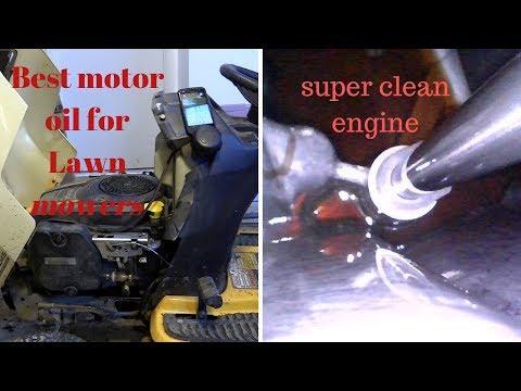 AMSOIL Best motor oil for lawn equipment, best mowers, Kawasaki vx 730 v, kohler, briggs Stratton