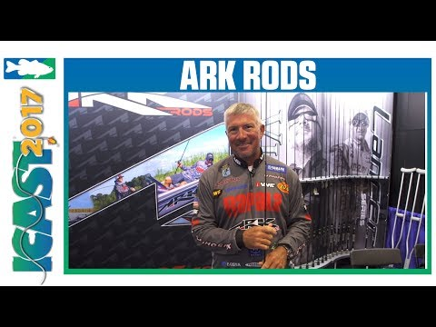 Ark Lancer Rods With Randall Tharp | ICAST 2017