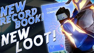 Destiny: NEW RECORD BOOK! NEW LOOT! SRL Year 3 Competitive Spirit Book! TREASURES OF THE DAWNING !