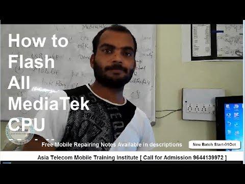 [Hindi/Urdu] All Mediatek CPU Mobile Flashing Tutorial |All Step |सारे MTK फ़ोन की फ्लशिंग करना सीखे