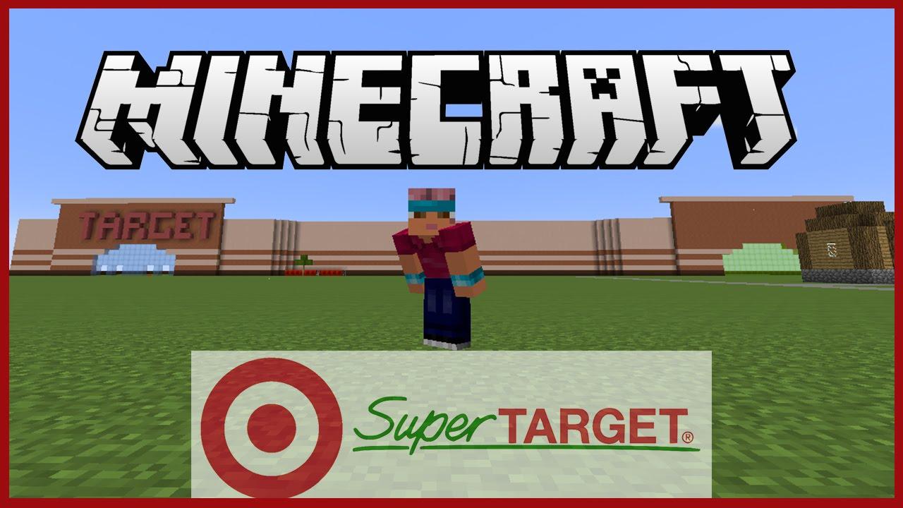 Minecraft Lets Build 1 Super Target Part