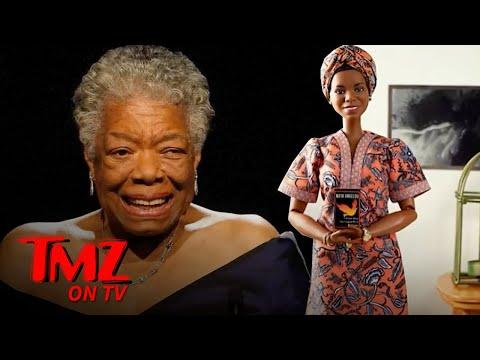 Mattel-Honors-Poet-Maya-Angelou-With-Barbie-Doll-TMZ-TV