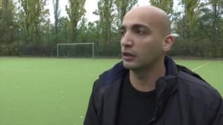 شاهد ..لاجئ سورى يتحول إلى حكم لمباريات كرة القدم فى ألمانيا