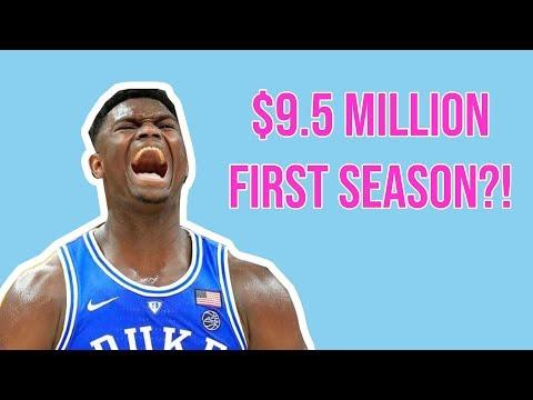 NBA Draft 2020: Number 1 Pick Salaries From 1985 - 2019