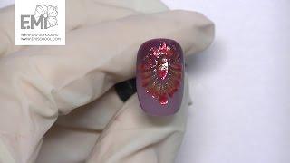 Мастер-класс омбре гель-лаком. Слайдер Nailcrust и объемный дизайн ногтей Gemty gel