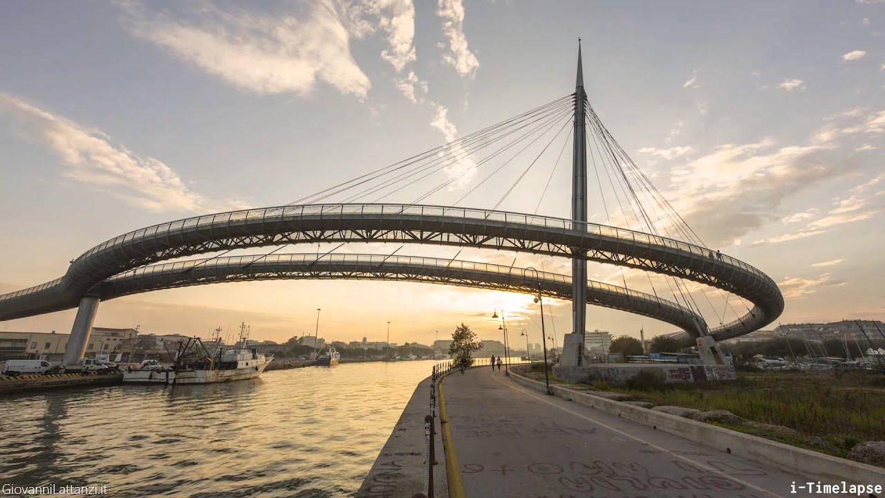 Pescara ponte del mare i timelapse youtube for Disegni di ponte anteriore