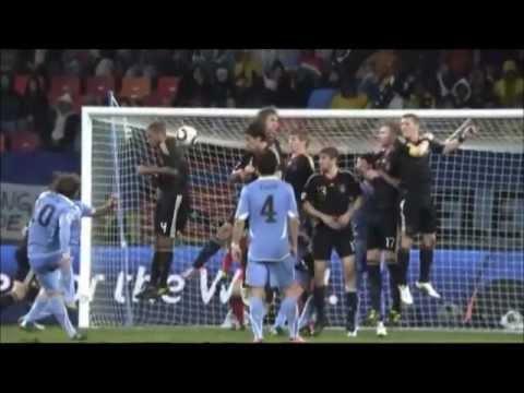 todos los goles de uruguay mundial 2010 HD