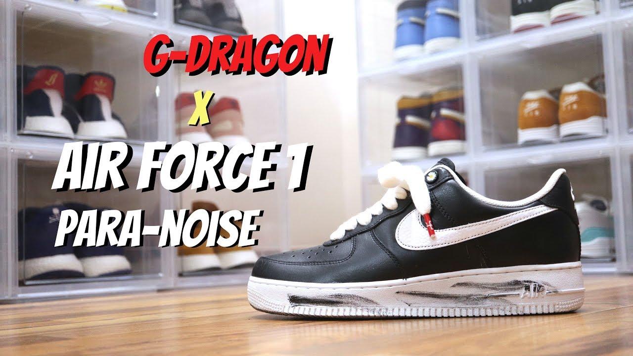 G DRAGON x NIKE AIR FORCE 1