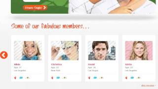 Love Link - Online Dating   Website Design