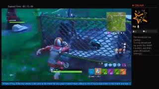 Jaxkidz904 playing on fortnite i got battle pass playing with savage_boy