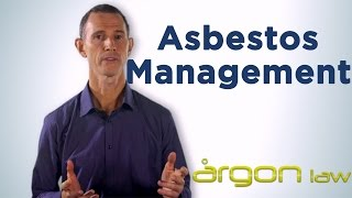 Asbestos management::Your responsibilities as an owner. Sunshine Coast Lawyer- Argon Law