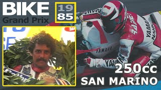 1985 San Marino Bike Grand Prix | 250cc Race