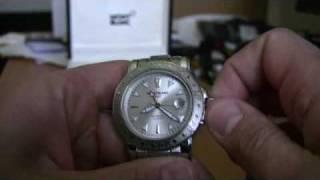Mont Blanc Sport GMT Watch