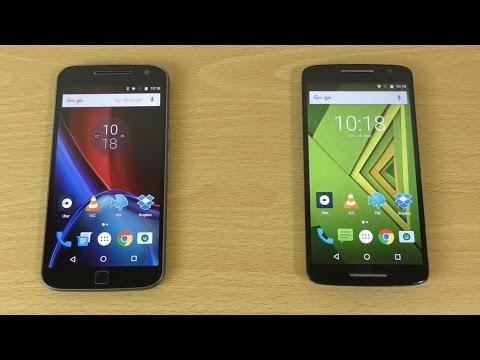 Moto G4 Plus vs Moto X Play - Speed & Camera Comparison!