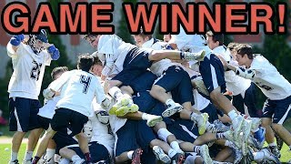 CLUTCH - 2017 College Lacrosse Game Winning Goals